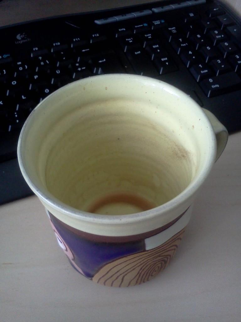 mein Lieblingskaffeehäferl aus Tschechien